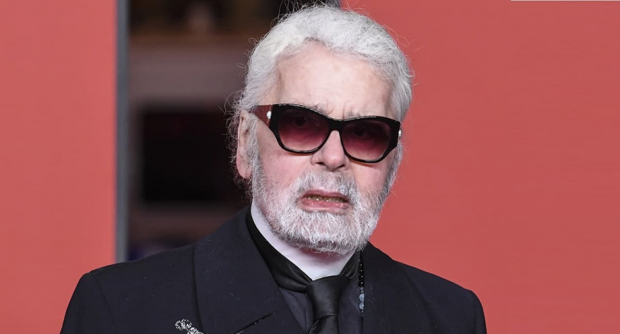 Karl Lagerfeld, diseñador.