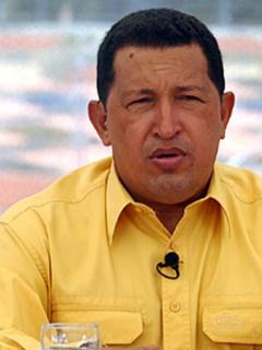 Chávez y Guaidó