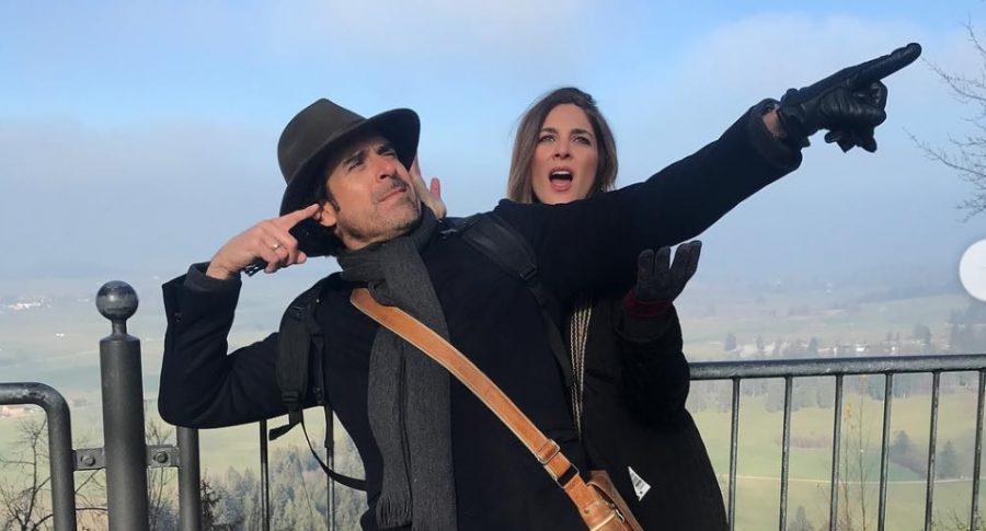 Rafael Novoa, actor, y Adriana tarud, exreina.