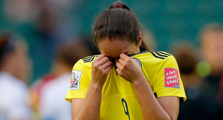 Jugadora de la Selección Colombia femenina