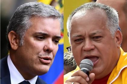 Iván Duque y Diosdado Cabello