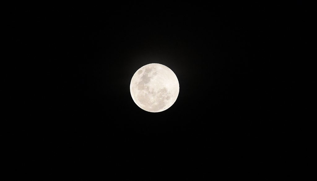 Superluna en Colombo, Sri Lanka