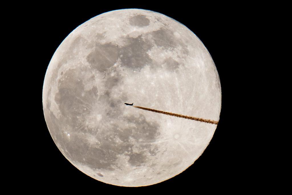 Superluna en Nuremberg, Alemania