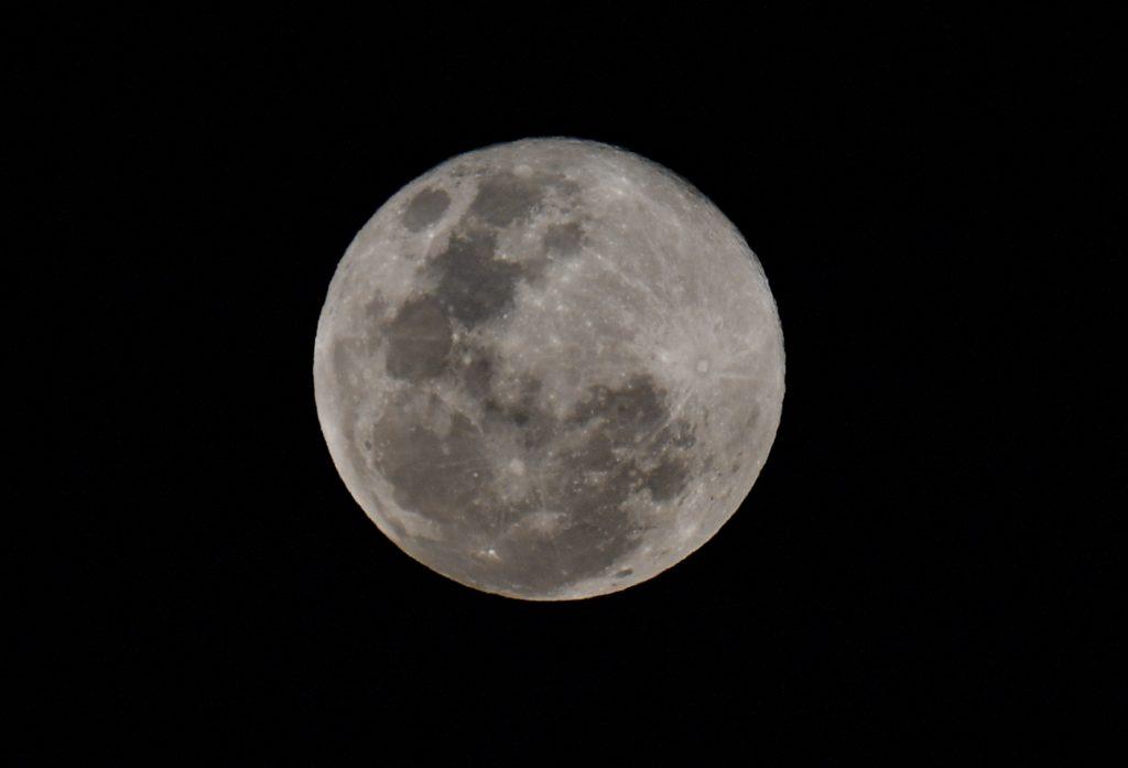 Superluna en Caracas, Venezuela