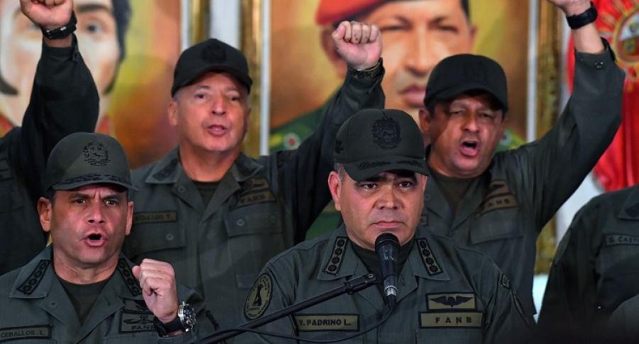 Minstro de Defensa venezolano Vladimir Padrino