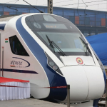 Tren más rápido de India.