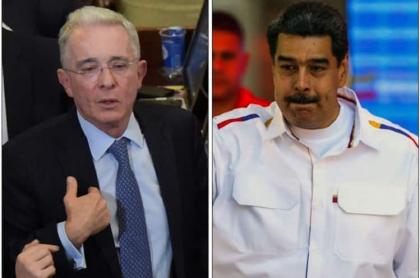 """Reviven video de Álvaro Uribe pidiéndole a la """"dictadura"""" de Nicolás Maduro no dispararles a manifestantes durante marchas de 2017."""