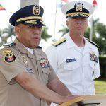 Generales de Colombia y EE. UU.