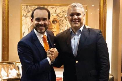 Abelardo De la Espriella e Iván Duque