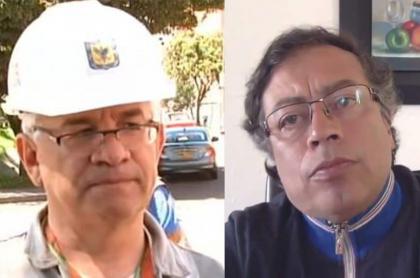 Juan Carlos Montes y Gustavo Petro