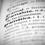 La palabra 'gramática' en el diccionario