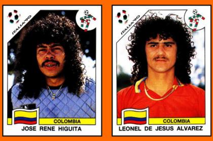 José René Higuita y Leonel de Jesús Álvarez