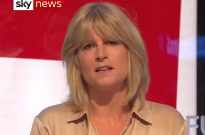 Rachel Johnson, presentadora británica.
