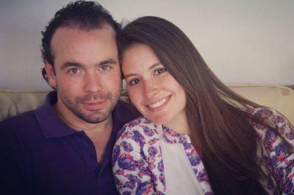 Taliana Vargas, exreina, y su esposo, Alejandro Éder.