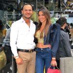 Luis Miguel Zabaleta, dermatólogo, y Paula Andrea Betancur, exreina.
