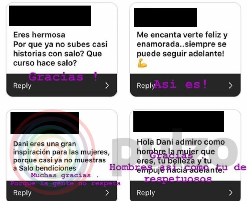 Respuesta de Daniela Ospina a fanática