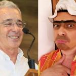 Álvaro Uribe Vélez y 'Suso el paspi'