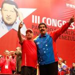 Hugo Carvajal y Hugo Chávez
