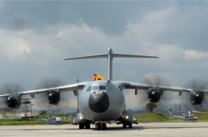 Airbus A400M de la Fuerza Aérea Colombiana