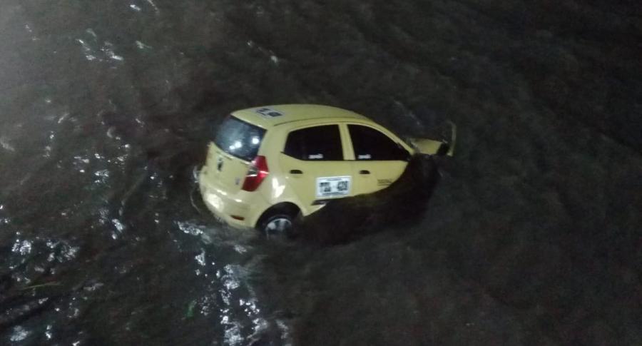 Taxi en el Río Magdalena