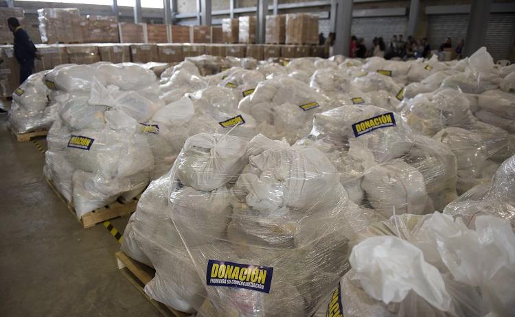 Paquetes de ayuda humanitaria