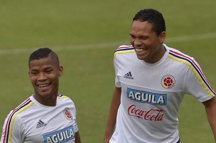Wilmar Barrios y Carlos Bacca