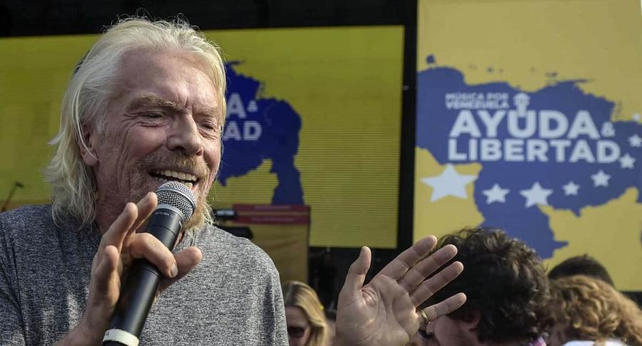 Ricard Branson, empresario.