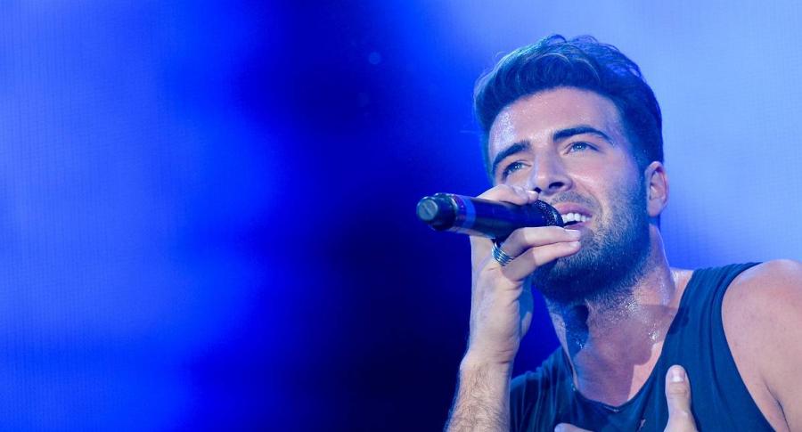 Jencarlos Canela, cantante y actor.