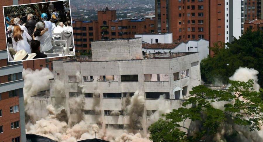 Demolición edificio Mónaco