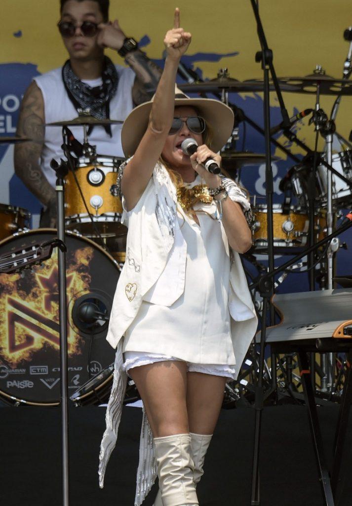 Paulina Rubio, cantante.
