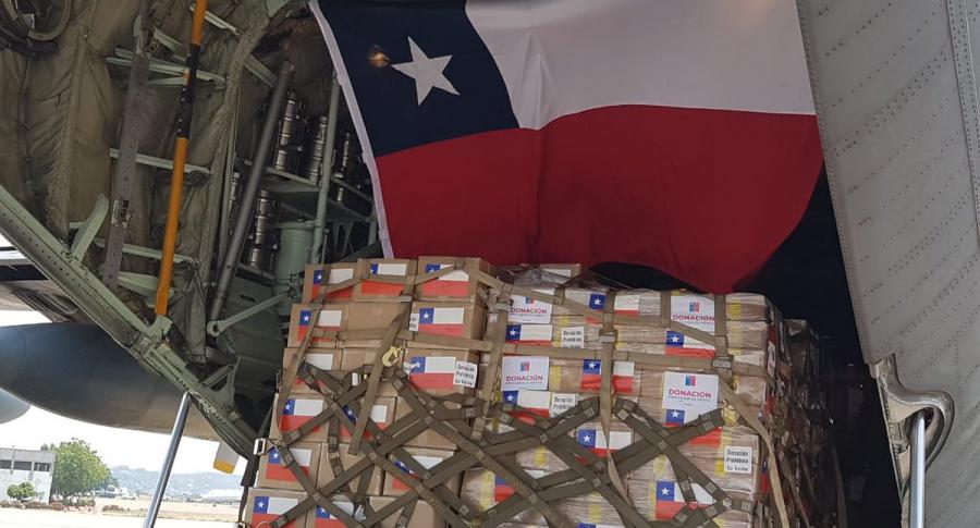 Ayuda humanitaria de Chile