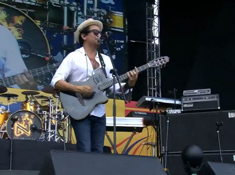 Jorge Villamizar, cantante.