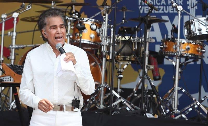 José Luis Rodríguez 'el Puma', cantante.