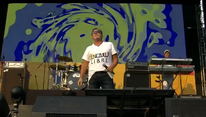 Ricardo Montaner, cantante.