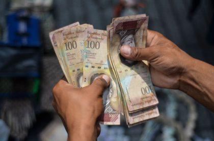 Billetes de bolívares