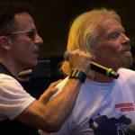 Fonseca y Richard Branson