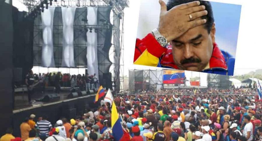 Concierto de Nicolás Maduro