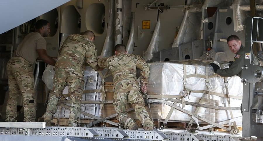 Ayuda humanitaria de EE. UU.