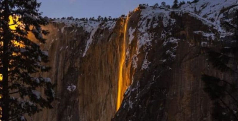 Cascada Yosemite