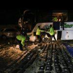 Narcobús en Ecuador