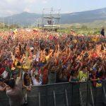 Fotos del concierto por la paz