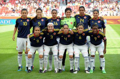 Selección Colombia Femenina en el Mundial Alemania 2011