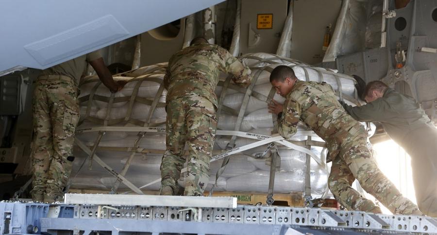 Ayudas humanitarias para Venezuela.