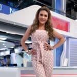 Ana Karina Soto, presentadora.