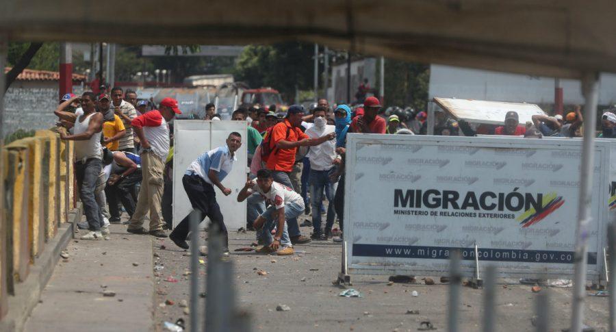 Disturbios en frontera con Venezuela