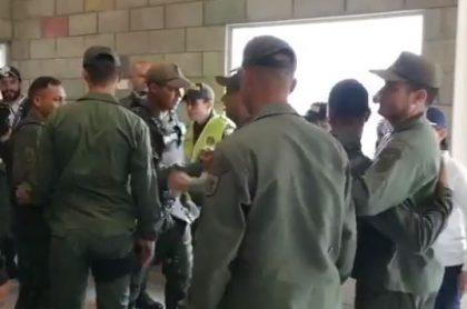 Desertores venezolanos