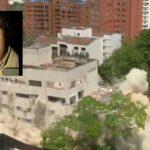 Implosión del edificio Mónaco