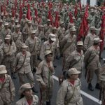Milicianos venezolanos