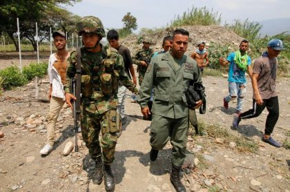 Desertor venezolano