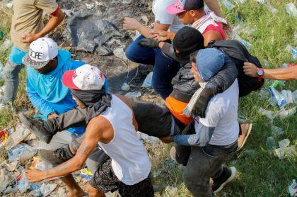 Herido en Venezuela